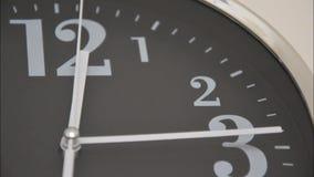 Lapso de tiempo de reloj almacen de metraje de vídeo