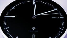 Lapso de tiempo de reloj 4 K almacen de metraje de vídeo