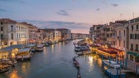 Lapso de tiempo de Venecia almacen de video