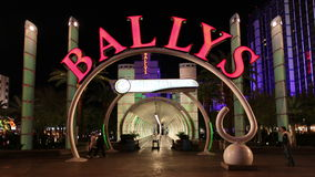 Lapso de tiempo del casino de Vegas en la noche - 4K - 4096x2304 metrajes
