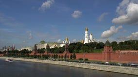 Lapso de tiempo del Kremlin Moscú metrajes