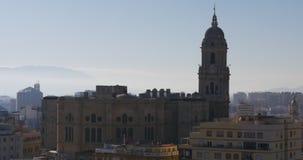 Lapso de tiempo del panporama 4k de la luz del día del planetario de España Valencia metrajes