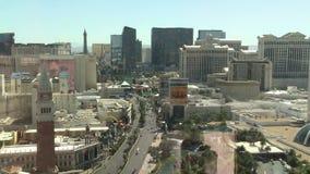 Lapso de tiempo del tráfico de la tira de Las Vegas - clip 3 metrajes