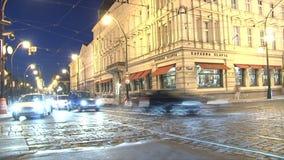 lapso de tiempo del tráfico, Praga metrajes