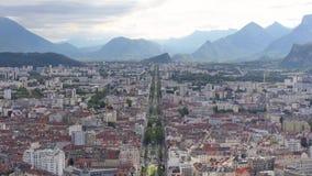 Lapso de tiempo en Grenoble, Francia metrajes