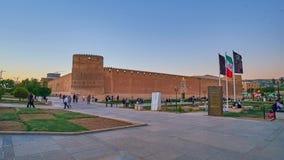 Lapso de tiempo en la ciudadela de Karim Khan en Shiraz, Irán almacen de metraje de vídeo