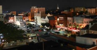 Lapso de tiempo en la noche Foto de archivo libre de regalías