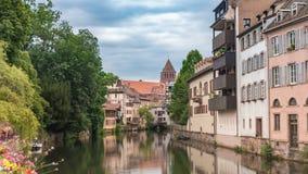 Lapso de tiempo de Estrasburgo Francia almacen de video