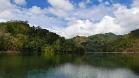 Lapso de tiempo de la opinión del lago Balanan almacen de metraje de vídeo