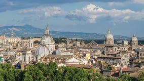 Lapso de tiempo de Roma metrajes