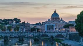 Lapso de tiempo de Roma almacen de metraje de vídeo