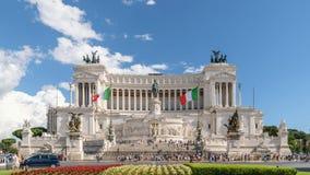 Lapso de tiempo de Roma Italia almacen de video