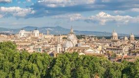 Lapso de tiempo de Roma Italia almacen de metraje de vídeo