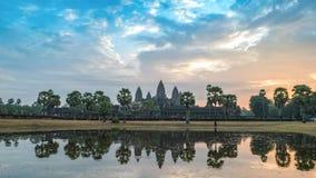 Lapso de tiempo de Siem Reap Camboya almacen de video