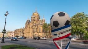 Lapso de tiempo de St Petersburg almacen de video