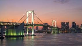 Lapso de tiempo de Tokio Japón almacen de video