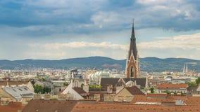 Lapso de tiempo de Viena almacen de metraje de vídeo