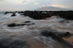 Lapso del océano Imágenes de archivo libres de regalías