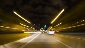 Lapso del tiempo de conducción de la ciudad de Bruselas
