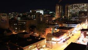 Lapso do centro da noite de Ottawa filme