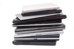 Lapto Pile Stock Photo