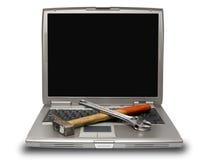 laptopów narzędzia Zdjęcia Stock