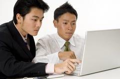 Laptopów Użytkownicy obrazy royalty free