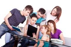 laptopów ucznia działanie Fotografia Royalty Free