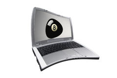 laptop śni Obrazy Stock