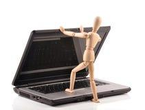 Laptop Royalty-vrije Stock Fotografie