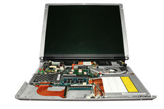 Laptop. Royalty Free Stock Photography