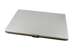 Laptop. Isolated on white with clipping path Royalty Free Stock Photo