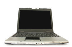 Laptop. Isolated laptop on a white backround Royalty Free Stock Images