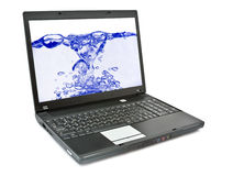 Laptop. Stock Images