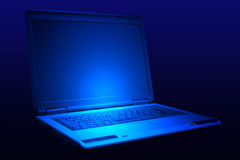 Laptop 2 Royalty Free Stock Photography