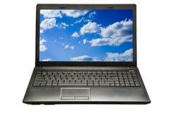 laptop fotografia stock
