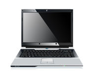Laptop. Stylish professional icon of the laptop for your site Stock Image