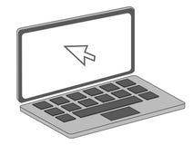 Laptop royalty-vrije stock foto's