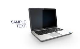 Laptop. Modern computer, vector illustration Royalty Free Stock Photo