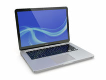Laptop. 3d Stock Photo
