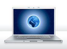 Laptop 4 Stockbild