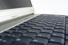 Laptop. Macro of laptop keyboard Stock Photography