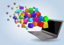 Laptop Stockfotos