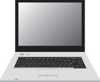 Laptop. Isolation on a white background .Vector illustration Stock Images