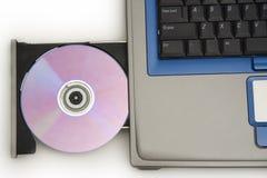Laptop aandrijving royalty-vrije stock foto