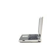 Laptop alleine stockbild