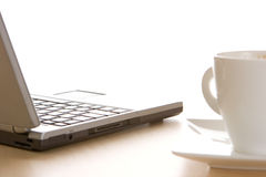 Free Laptop And Coffee Stock Image - 1969341