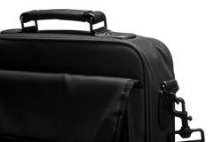 Laptop bag. Closeup on white background Stock Image