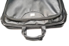 Laptop bag. Isolated on white background Royalty Free Stock Photography