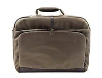 Laptop bag. Isolated on white royalty free stock photos